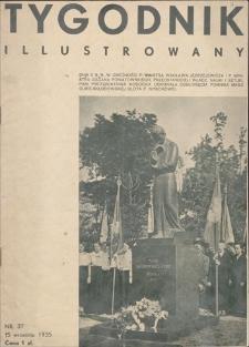 Tygodnik Ilustrowany. R. 76, 1935, nr 37, 15 IX