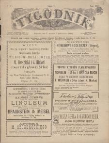 Tygodnik Ilustrowany. T. 8, seria 5, 1893, nr 197, 25 IX (7 X)