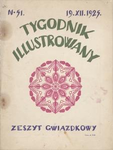 Tygodnik Ilustrowany. R. 66, 1925, nr 51, 19 XII