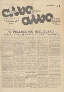 Albo-albo : dwutygodnik. R. 2, 1938, nr 7 (9), 10-25 IV
