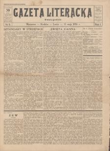 Gazeta Literacka : dwutygodnik. R. 1, 1926, nr 8, 15 V