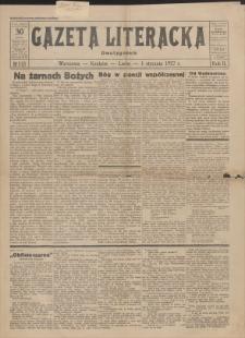 Gazeta Literacka : dwutygodnik. R. 2, 1927, nr 1 (22), 1 I