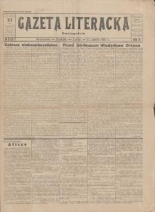 Gazeta Literacka : dwutygodnik. R. 2, 1927, nr 6 (27), 15 III