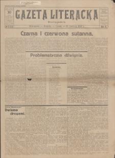 Gazeta Literacka : dwutygodnik. R. 2, 1927, nr 12 (33), 15 VI