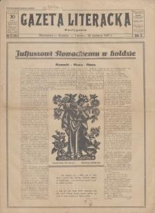 Gazeta Literacka : dwutygodnik. R. 2, 1927, nr 13 (34), 28 VI