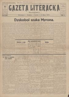 Gazeta Literacka : dwutygodnik. R. 2, 1927, nr 14 (35), 15 VII