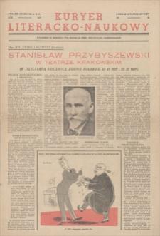 """Kurjer Literacko-Naukowy. Dodatek do nru 323 """"Ilustrowanego Kuryera Codziennego"""" z dnia 22 listopada 1937. R. 14 , 1937, nr 48, 22 XI"""