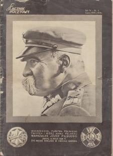 Łącznik Pocztowy. R. 4, 1935, nr 6, czerwiec
