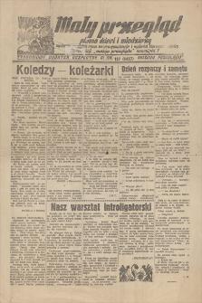 """Mały Przegląd : pismo dzieci i młodzieży, tygodniowy dodatek bezpłatny do nru 127 (8457) """"Naszego Przeglądu"""".[ R. 16, 1938]"""