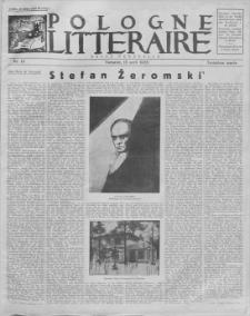 Pologne Litteraire : revue mensuelle. A. 3, 1928, nr 19 (15 avril)