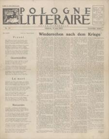 Pologne Litteraire : revue mensuelle. A. 4, 1929, nr 32 (15 mai)