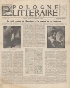 Pologne Litteraire : revue mensuelle. A. 4, 1929, nr 35-36 (15 août – 15 septembre)