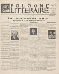 Pologne Litteraire : revue mensuelle. A. 7, 1932, nr 68 (15 mai)