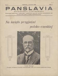 Panslavia : miesięcznik ilustrowany, poświęcony polityczno-kulturalno-naukowym sprawom narodów słowiańskich, jak również idei walki o wielką Słowiańszczyznę. R. 1, 1933, nr 2, czerwiec