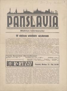 Panslavia : biuletyn informacyjny. [1933]