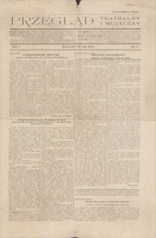 Przegląd Teatralny i Muzyczny. R. 1, 1924, nr 2, 18 V