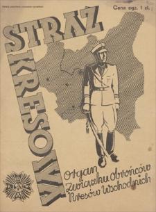 Straż Kresowa : organ Związku Obrońców Kresów Wschodnich. R. 1, 1934, nr 6, wrzesień
