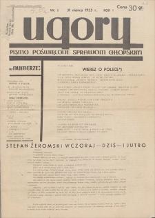 Ugory : pismo poświęcone sprawom chłopskim. R. 1, 1935, nr 2, 31 III