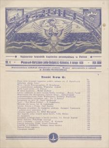 Kupiec : najstarszy tygodnik kupiecko-przemysłowy w Polsce. R. 24, 1930, nr 6, 8 II