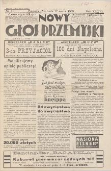 Nowy Głos Przemyski. R. 36. 1939, nr 11, 12 III