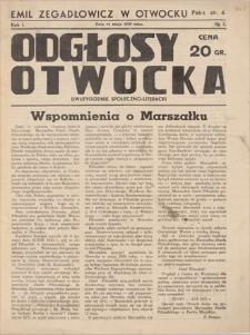 Odgłosy Otwocka : dwutygodnik społeczno-literacki. R. 1, 1939, nr 2, 14 V