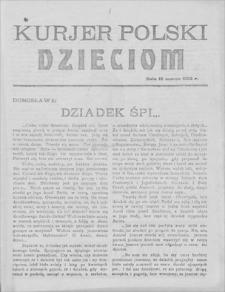 Kurjer Polski Dzieciom, 10 III 1923