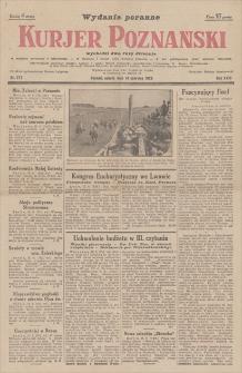 Kurjer Poznański : wydanie poranne. R. 23, 1928, nr 271, 16 VI