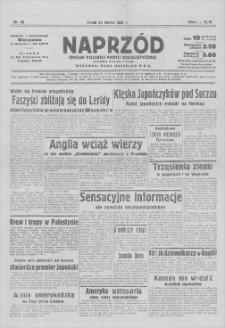 Naprzód : organ Polskiej Partji Socjalistycznej. R. 46, 1938, nr 90, 30 III