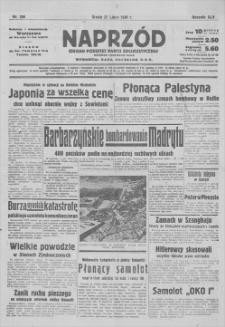 Naprzód : organ Polskiej Partji Socjalistycznej. R. 46, 1938, nr 206, 27 VII