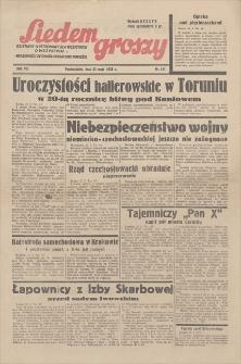 Siedem Groszy : dziennik ilustrowany dla wszystkich o wszystkim, wiadomości ze świata, sensacyjne powieści. R. 7, 1938, nr 141, 23 V