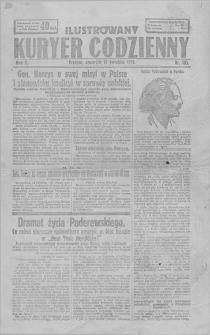 IIlustrowany Kuryer Codzienny. R. 10, 1919, nr 105, 17 IV
