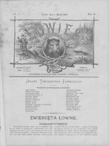 Łowiec : organ Galicyjskiego Towarzystwa Łowieckiego. R. 2, 1879, nr 3, 1 III