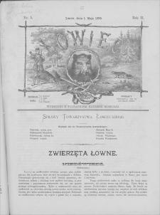 Łowiec : organ Galicyjskiego Towarzystwa Łowieckiego. R. 2, 1879, nr 5, 1 V