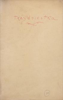 """Korespondencja Emila Zegadłowicza. Listy młodych redaktorek zwanych """"Trzydziestką"""" do Emila Zegadłowicza z lat 1937-1938"""