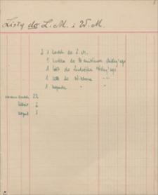 Papiery i listy rodziny Misky'ch