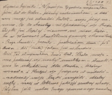 Korespondencja Emila Zegadłowicza. Listy Emila Zegadłowicza do Marii Zegadłowicz z domu Kurowskiej z roku 1920