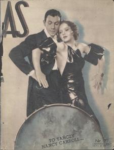 AS : ilustrowany magazyn tygodniowy. R. 1, 1935, nr 27 (1 IX)