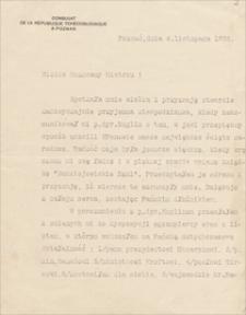 Korespondencja Emila Zegadłowicza. Pisma do Zegadłowicza w związku z wydaniem tomu Budziejowickie łąki