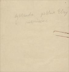 Papiery osobiste Elżbiety Kaiszarówny (matki Emila Zegadłowicza)