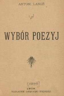 Wybór poezyj