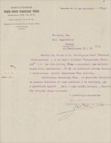 Korespondencja Emila Zegadłowicza. Pisma i listy do Emila Zegadłowicza dotyczące współpracy pisarza z teatrami