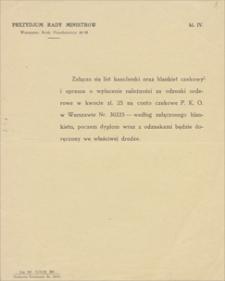 Papiery osobiste Emila Zegadłowicza. Odznaczenia, dyplomy