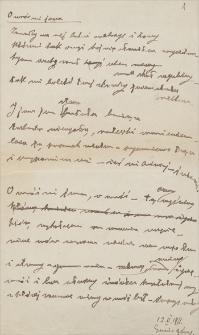 Twórczość Emila Zegadłowicza : wiersze z lat 1911-1935