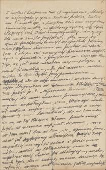 Twórczość Emila Zegadłowicza. Bruliony przemówień, wystąpień publicznych