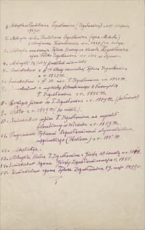 Dokumenty i papiery Tytusa Zegadłowicza
