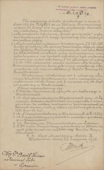 Papiery Emila Zegadłowicza dotyczące spraw majątkowych i posiadłości w Gorzeniu Górnym