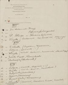 Papiery Emila Zegadłowicza dotyczące Ministerstwa Sztuki i Kultury – notatki różne