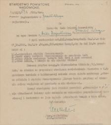 Papiery Emila Zegadłowicza dotyczące Związku Rezerwistów i Związku Legionistów Polskich