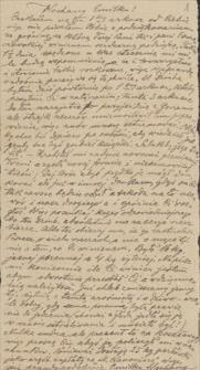 Korespondencja Emila Zegadłowicza. Listy Ludwika Misky'ego do Emila Zegadłowicza z lat 1919-1934