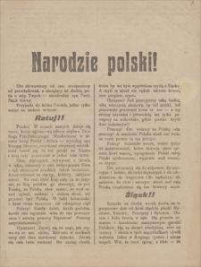 Papiery Emila Zegadłowicza. Druki ulotne: odezwy, ulotki